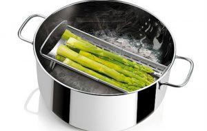 Cocina al vapor, una opción sana de cocinar