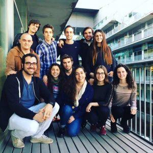 Imagen del equipo de estudiantes que están desarrollando el proyecto Polybiome