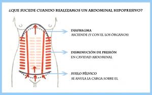 Qué trabajamos al realizar un abdominal hipopresivo